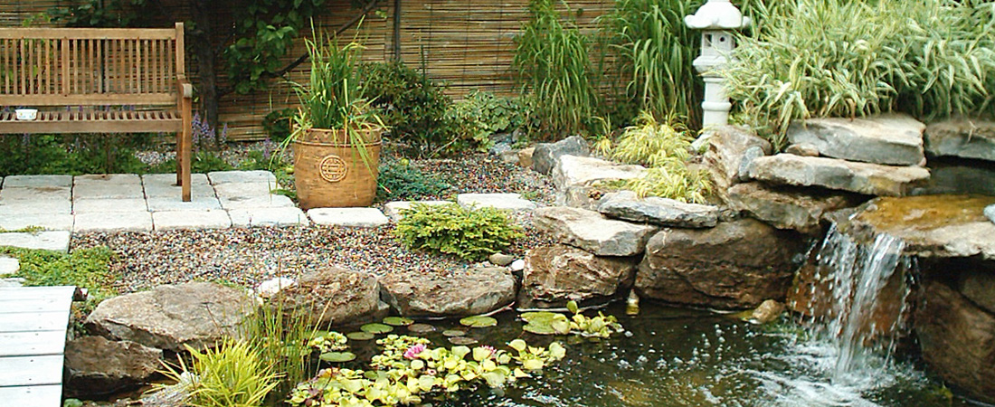 Montreal Landscaping Contractor Ponds and Waterfalls